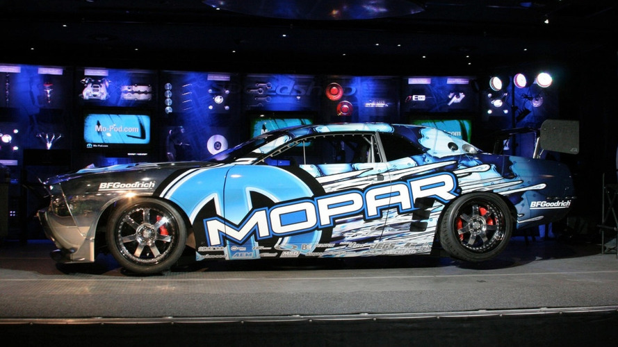 Mopar Drift Dodge Challenger 2009 Unveiled at SEMA