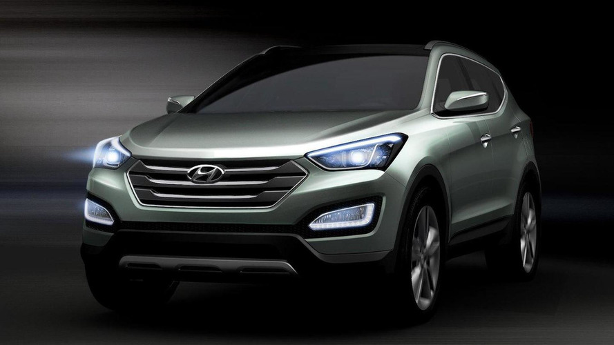 All new Hyundai Santa Fe / ix45 first images released