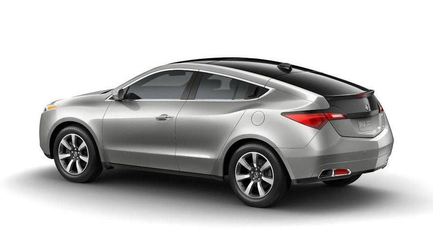 2013 Acura ZDX facelift revealed, will get killed off within months