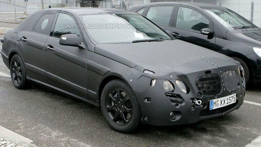 SPY PHOTOS: New Mercedes E-class