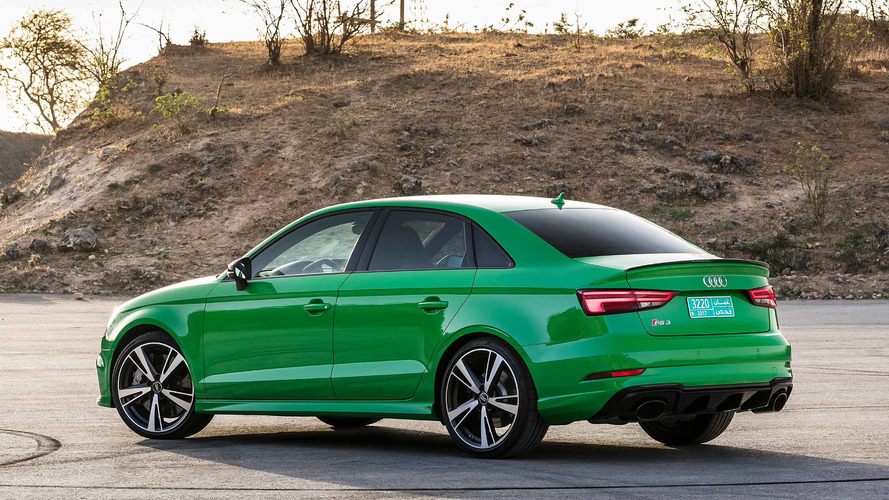Audi RS Sedan First Drive The Nocompromise Compromise - Audi rs3