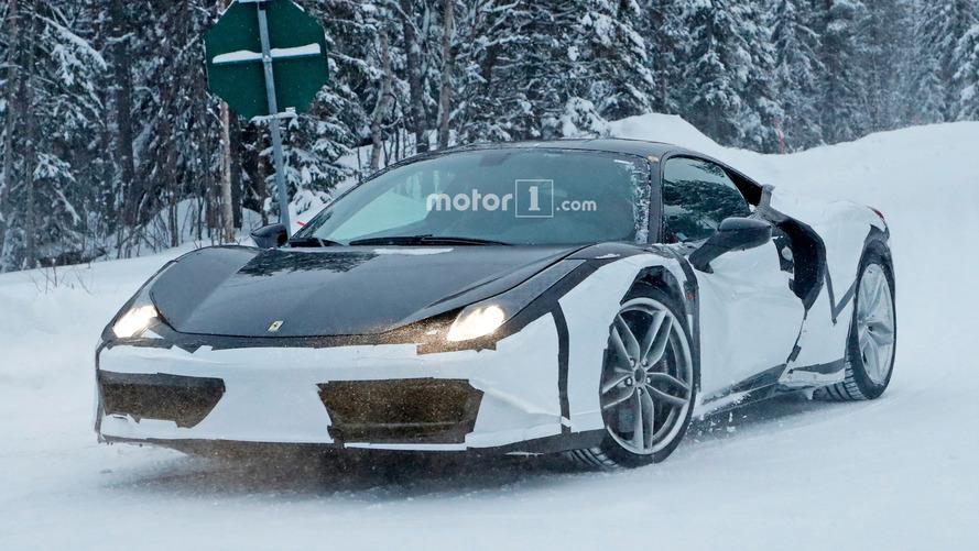 Bu Ferrari 488 bir hibrit mi?