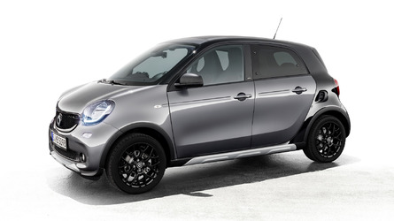Smart ForFour Gets Rugged With Crosstown Special Package