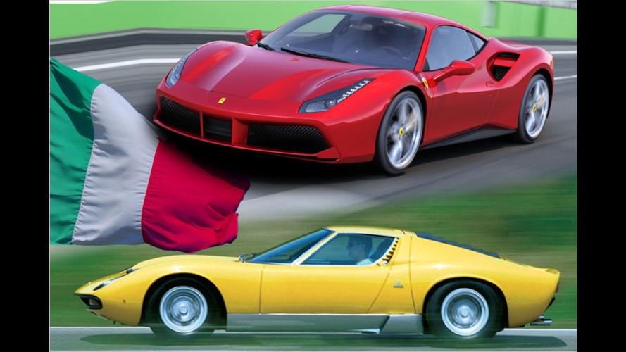 Bella Macchina aus Bella Italia: Die besten Sportwagen italienischer Herkunft