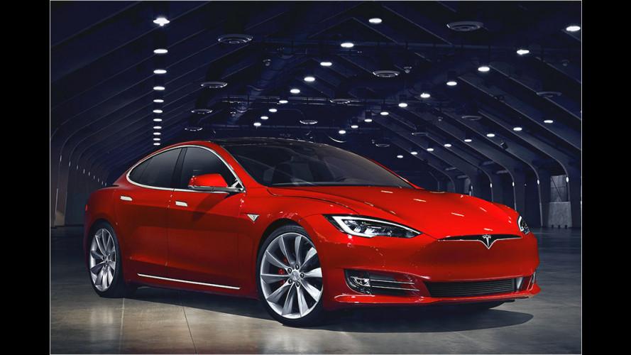 Tesla verbessert ,Autopilot