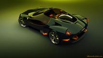 Ferrari 250 Concept by Slimane Toubal