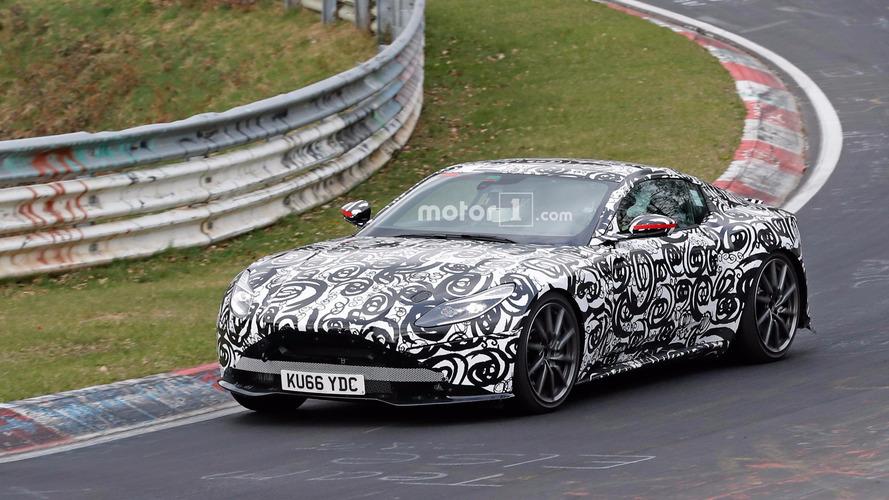 Next Aston Martin V8 Vantage Spied Sliding At The 'Ring