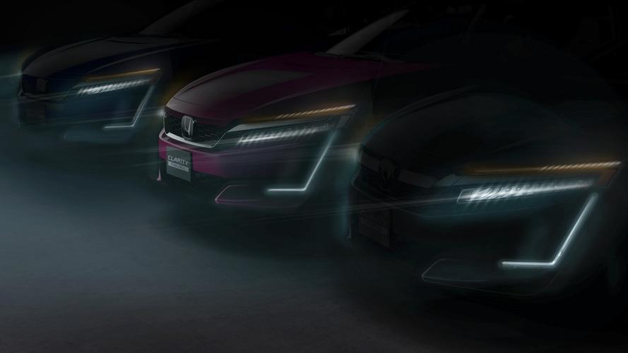 Honda Clarity Plug-in Hybrid ve Electric'in teaser'ı geldi