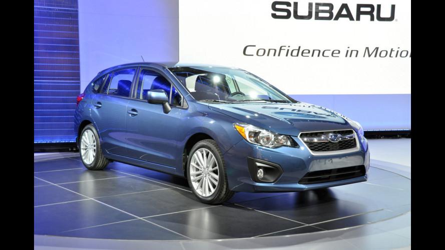 Subaru Impreza Berlina e Hatchback 2012