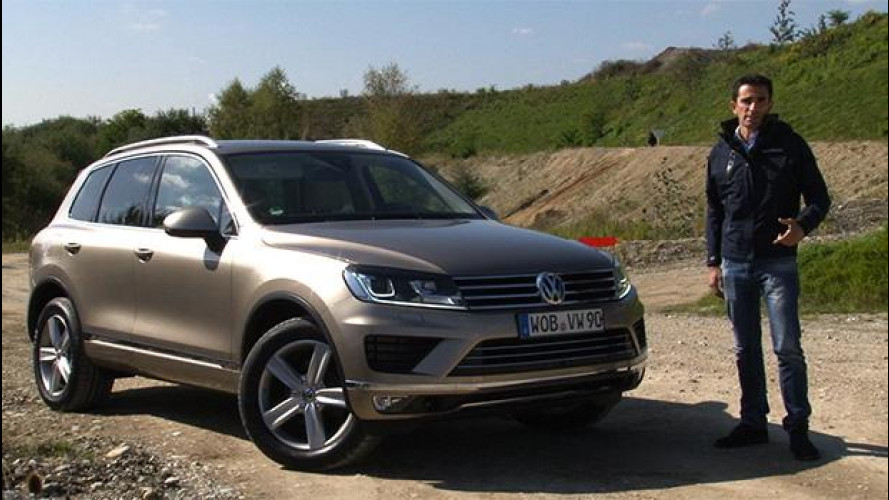 Volkswagen Touareg, lusso + understatement a trazione integrale