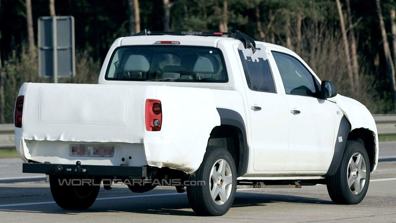 Volkswagen Robust Pick-Up truck spied