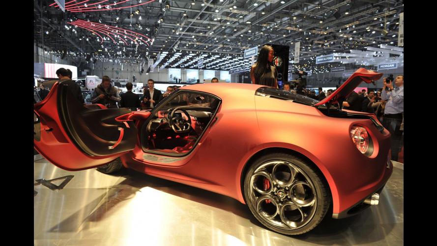 Alfa Romeo 4C: com'è l'abitacolo