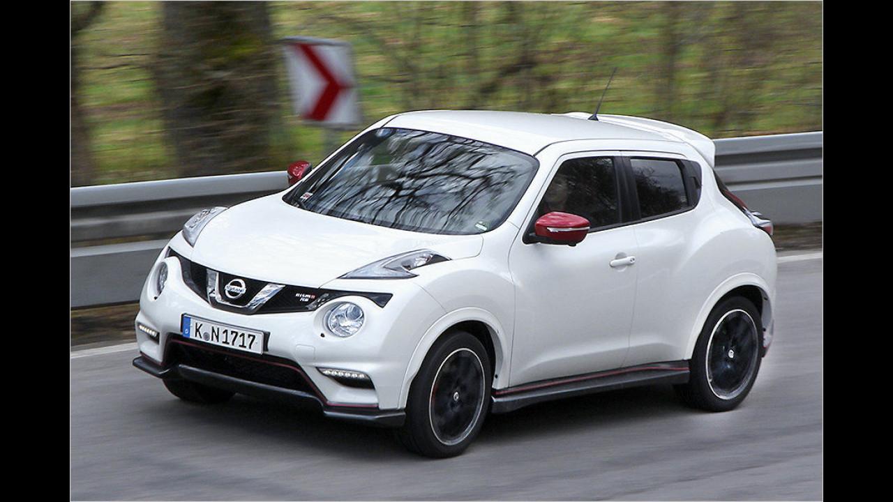 Kleine SUVs: Nissan Juke