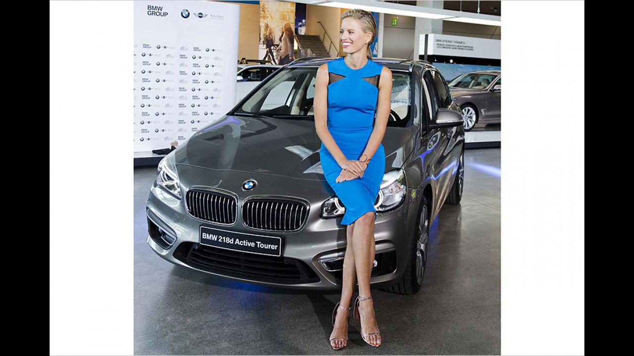 Karolina Kurkova: BMW 2er Active Tourer