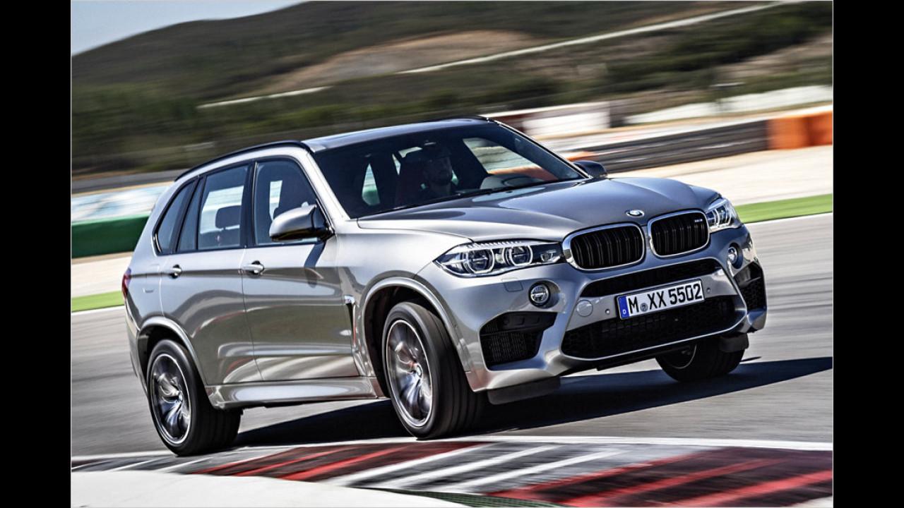 BMW X5 M: 4,2 Sekunden
