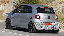 Smart ForFour Brabus spied ahead of a possible Frankfurt debut