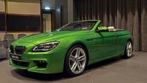 BMW 650i Convertible Java Green / BMW Abu Dhabi