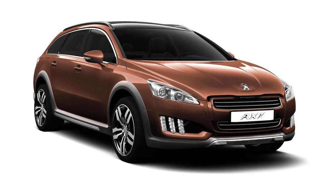 Peugeot 508 RXH diesel-electric hybrid 11.07.2011