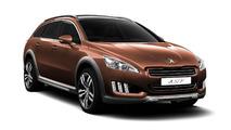 Peugeot 508 RXH diesel-electric hybrid revealed