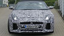 2016 Jaguar F-Type SVR Convertible spy photo