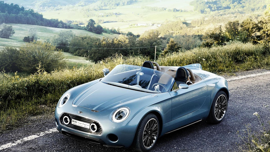 MINI still debating a production version of the Superleggera Vision concept