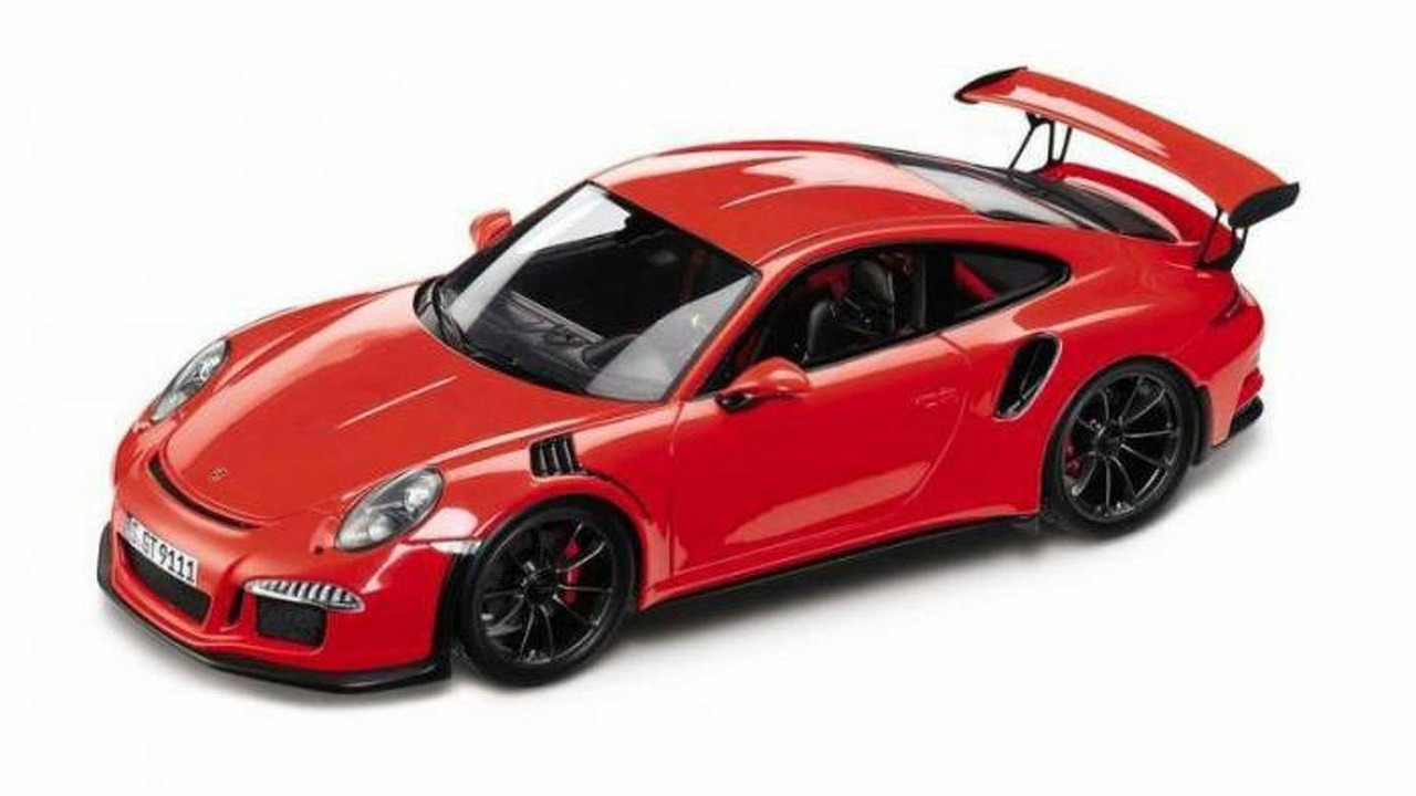 Porsche 911 GT3 RS scale model (not confirmed)