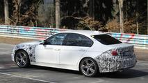 2016 BMW 3-series facelift plug-in hybrid spy photo
