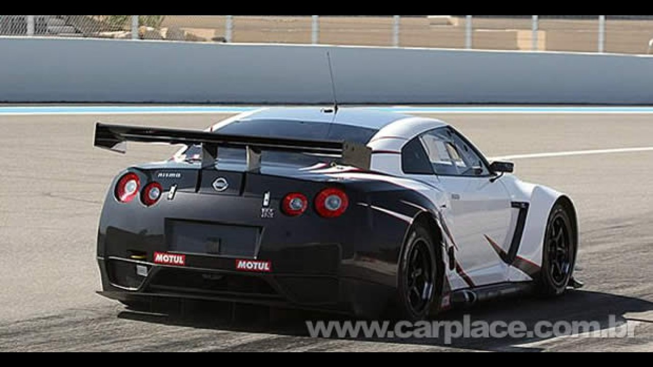 Versão de corrida: Nissan divulga detalhes oficiais do superesportivo GT-R GT1 FIA