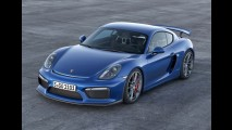 Porsche Cayman GT4 chega com motor do Carrera S e itens do 911 GT3 - veja fotos