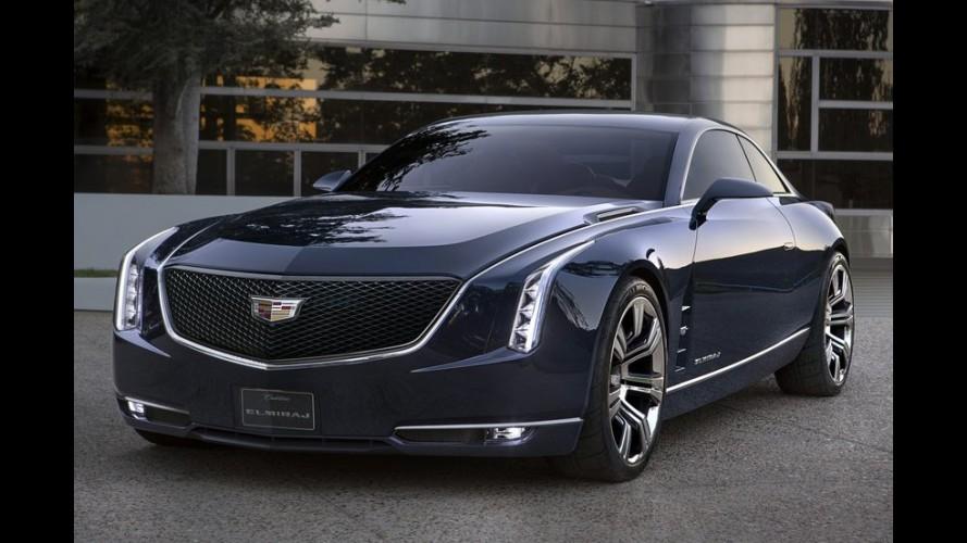 Galeria: Cadillac Elmiraj Concept será mostrado no concurso de Pebble Beach