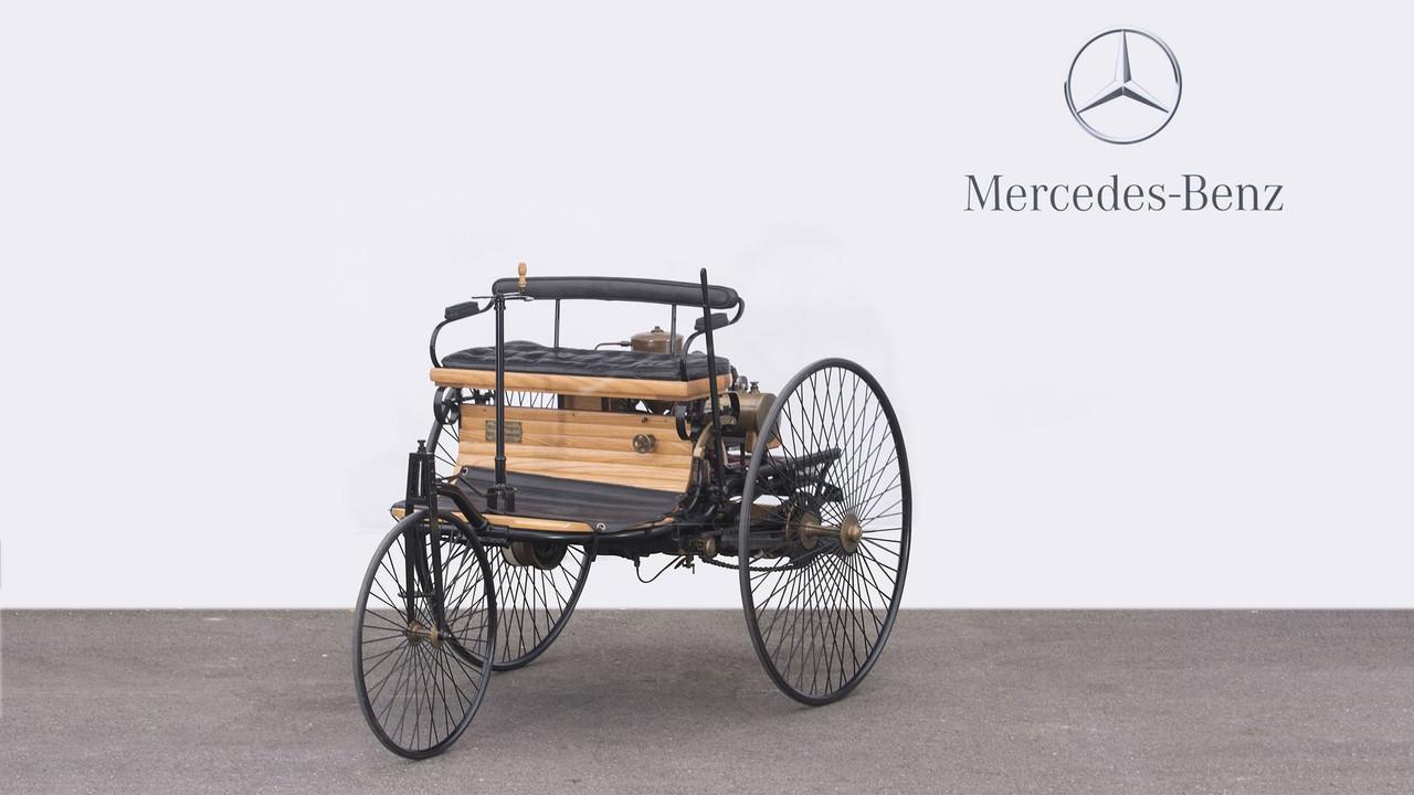 1886 Benz Patent-Motorwagen réplique tricycle