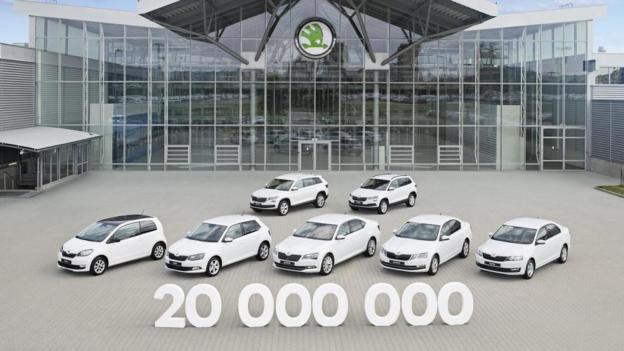 Karoq, Skoda'nın 20 milyonuncu otomobili