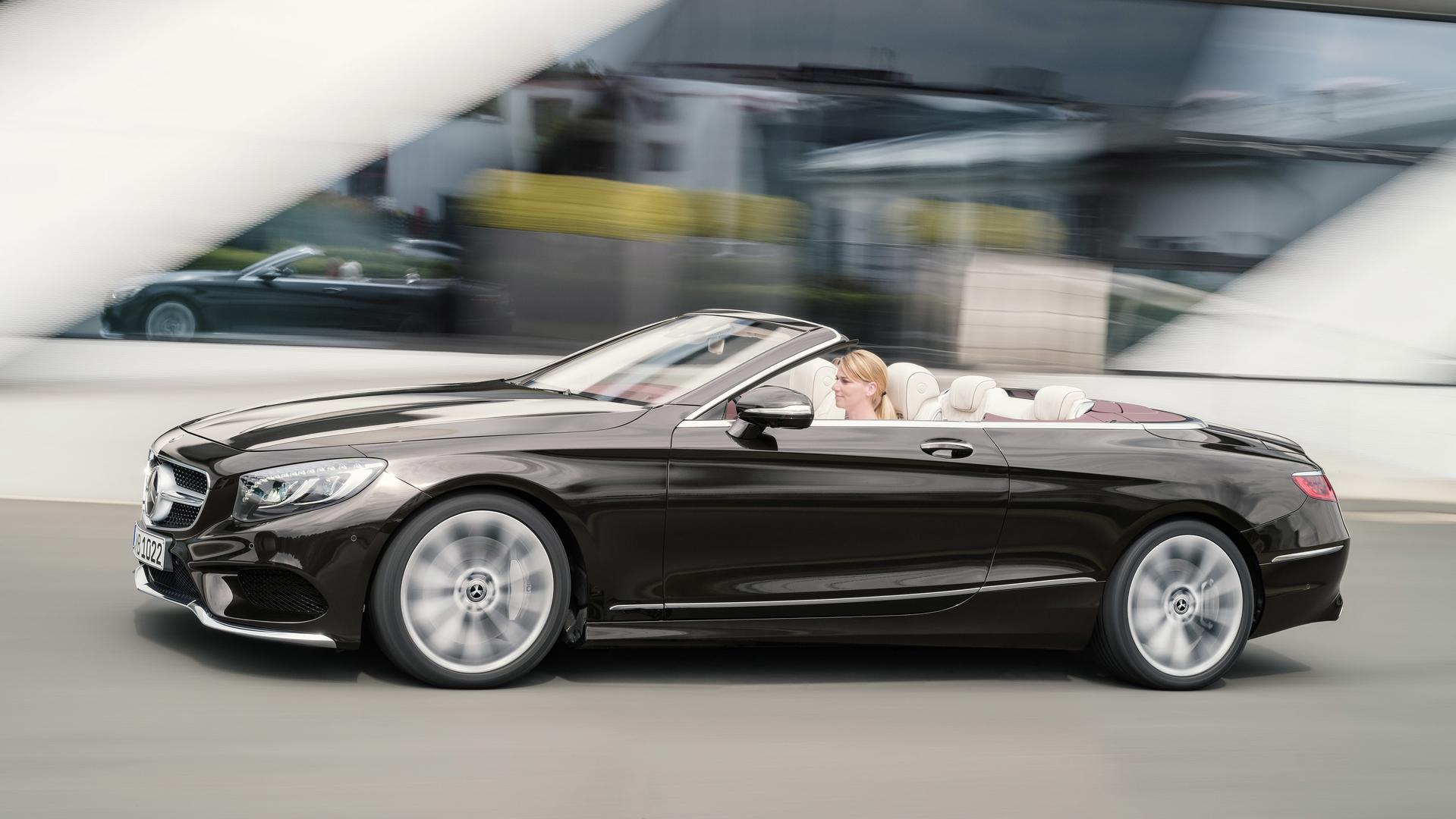 refreshed 2018 mercedes s class cabriolet revealed. Black Bedroom Furniture Sets. Home Design Ideas