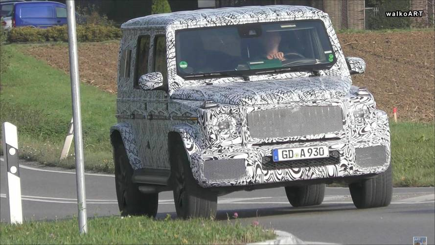 Next-Gen Mercedes-Benz G63 Spied With Digital Instrument Panel