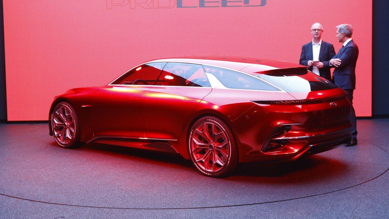 Kia Proceed Concept Reveals More Of Its Stunning Body