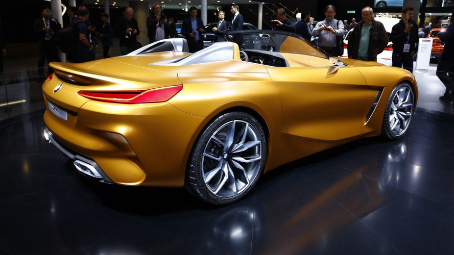 BMW Z4 Concept Wows The Crowds In Frankfurt
