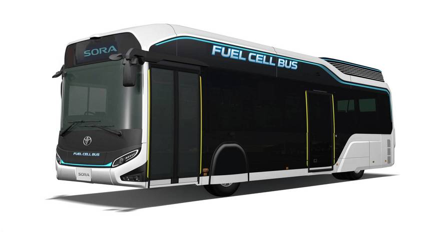 Toyota Sora Fuel Cell Bus Will Try To Squeeze Into Tokyo Show