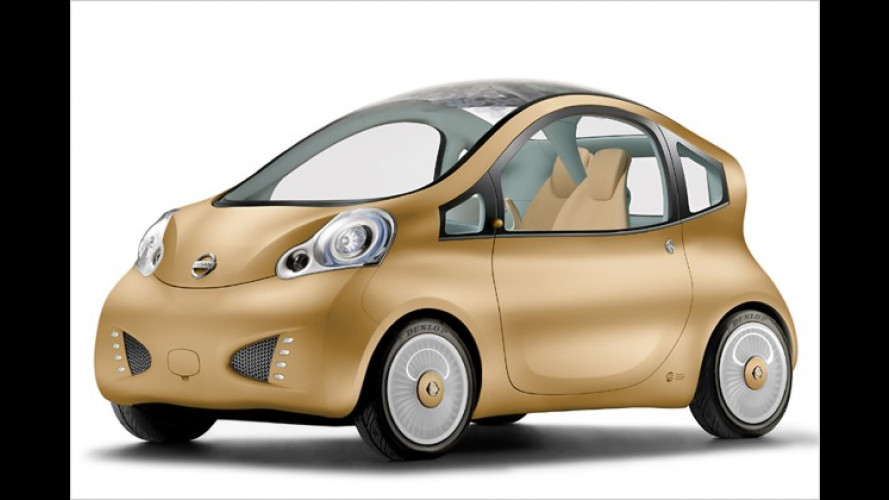 Nissan Nuvu: Elektrostudie für die City des Jahres 2015