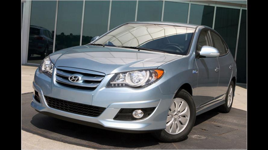 Hyundai Elantra LPI HEV: Premiere des Gas-Hybrid in Seoul