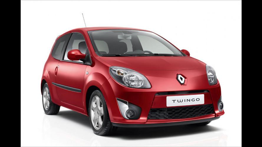 Renault Twingo: Ausstattungs-Palette aufgeräumt