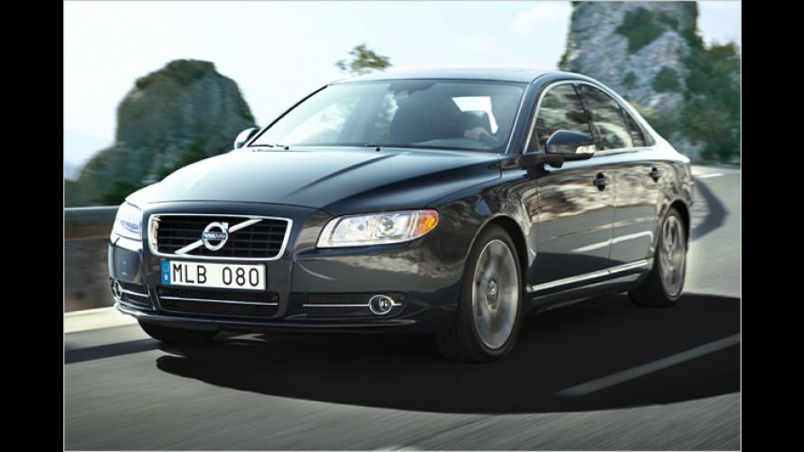 Facelift: Volvo schickt überarbeiteten S80 an den Start