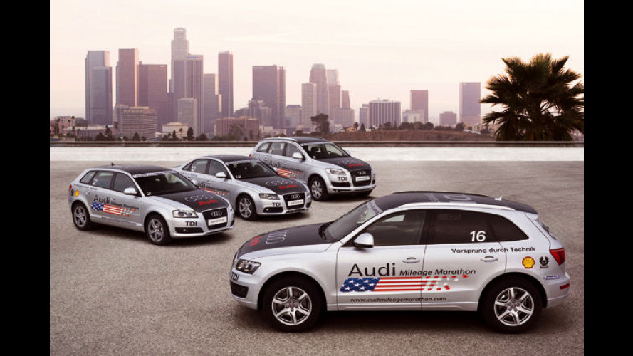Lange Prüfung: Audi stellt den Ultra-Low-Emission-Diesel vor