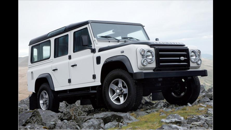 Landrover Defender Fire & Ice: Zwei neue Sondermodelle