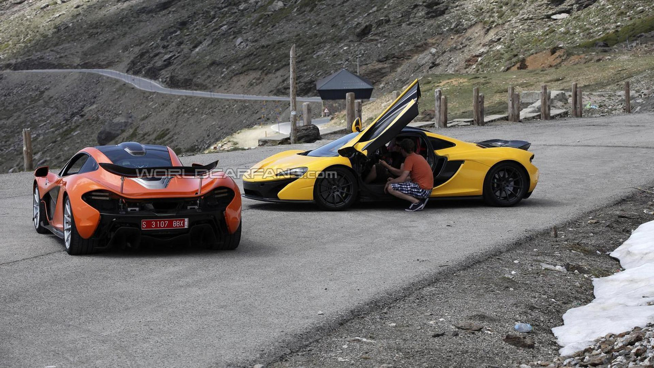 McLaren P1 pre-production 13.06.2013