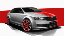 Skoda Rapid Sport teased for Worthersee