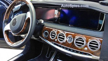 2013 Mercedes-Benz S-Class interior cabin spied?
