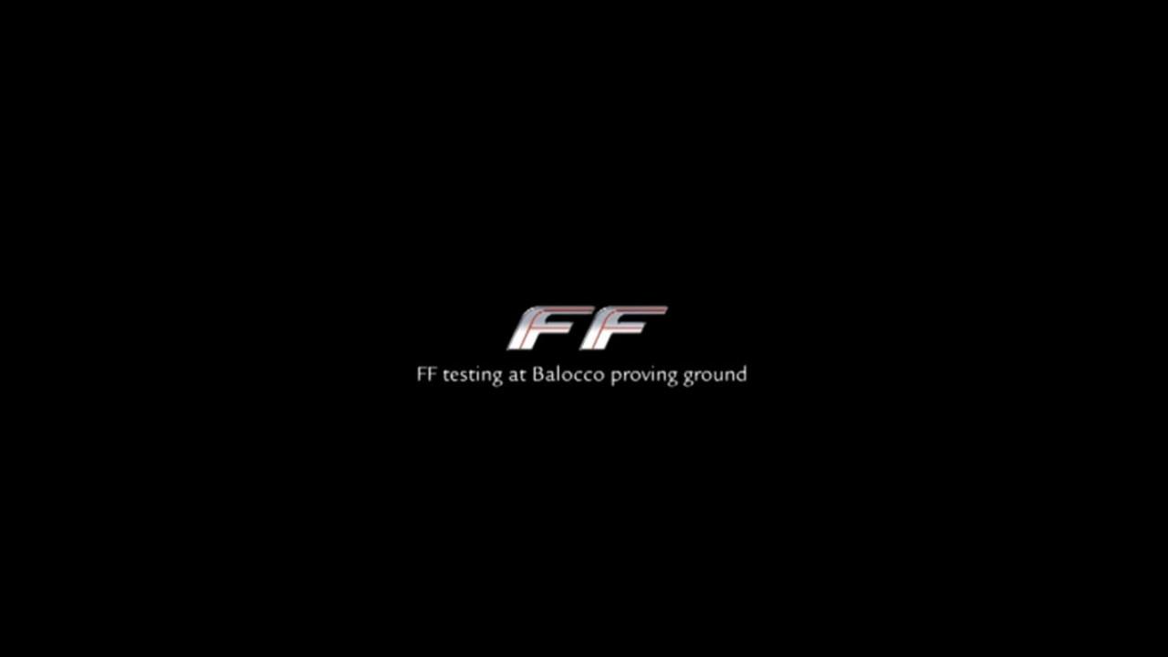 La Ferrari FF nei test a Balocco