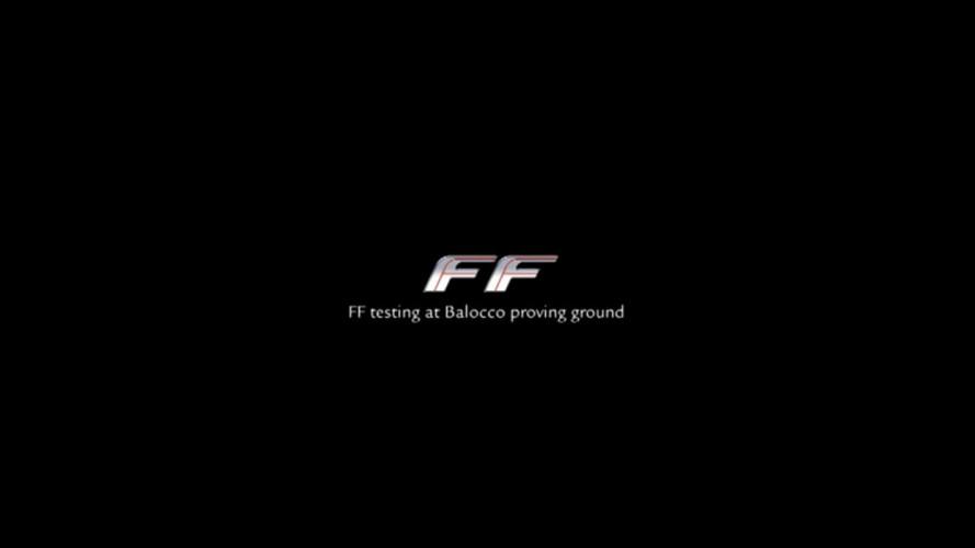 La Ferrari FF nei test a Balocco: secondo video ufficiale