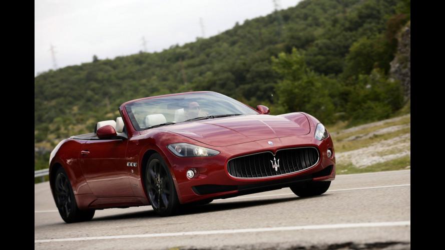 Maserati GranCabrio Sport: musica italiana