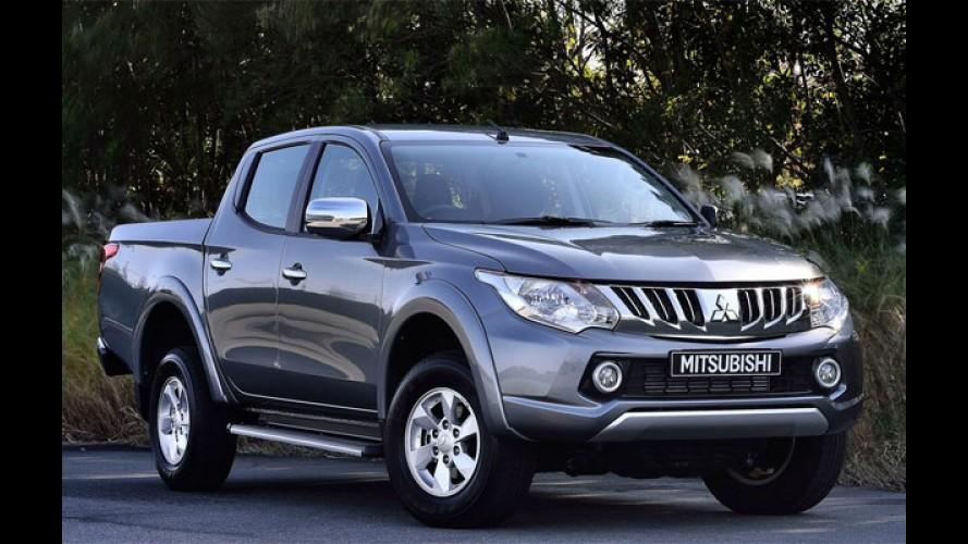 Nissan Frontier e Mitsubishi L200 Triton deverão compartilhar plataforma